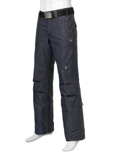 aros oxford navy insulated ski pant