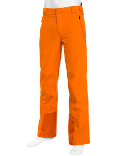 razor orange insulated ski pant