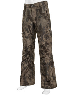 aros camo insulated ski pant