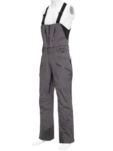 nomad gray insulated ski pant