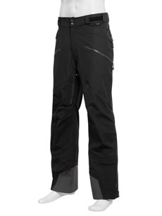 nomad black insulated pant