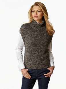 active t-neck sweater