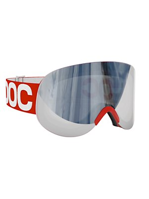 lid red/silver goggle