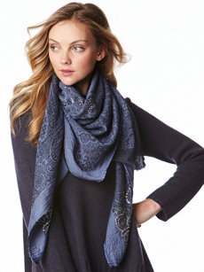natalia denim scarf