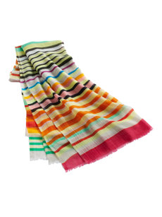 julia stripe scarf