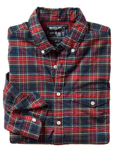 hunter plaid shirt