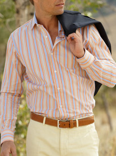 davide stripe shirt