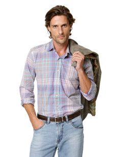 marino plaid shirt