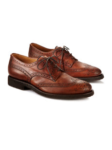 imperiale wingtip shoe