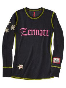 zermatt girl t-shirt