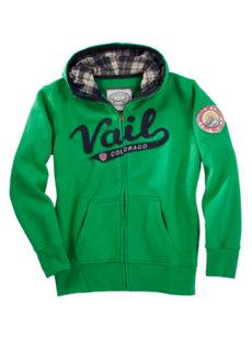 juniors vail green hoodie
