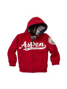 baby aspen red hoodie