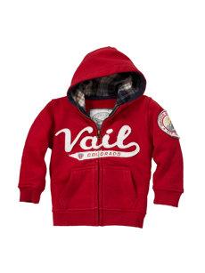 baby vail red hoodie