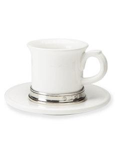 convivio espresso cup & saucer