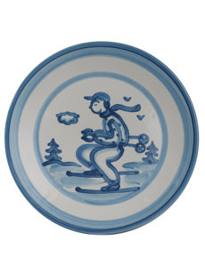 skier pottery