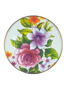 flower market salad plate