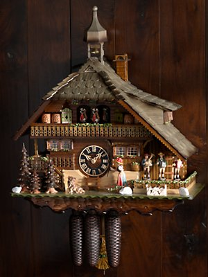 oompah band cuckoo clock clocks home Gorsuch from gorsuch.com