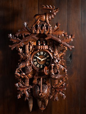 woodsman cuckoo clock clocks home Gorsuch from gorsuch.com