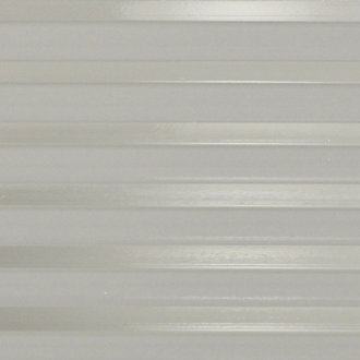 Clear Ribbed Glass