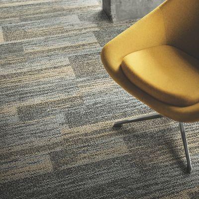 interface carpet tile. AE313 104883 Greige/Honey Interface Carpet Tile 0