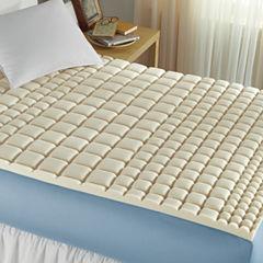 Isotonic® Structure Memory Foam Mattress Topper