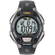Timex® Ironman Mens Black Digital Chronograph Watch 5E901