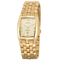 Armitron® Mens Gold-Tone Watch