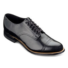 Stacy Adams® Madison Mens Cap Toe Leather Lace Oxford Dress Shoes