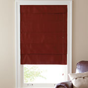 Custom Linden Street™ Suede Blackout Roman Shade - Sizes