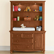 Bedford Baby Monterey Changing Table or Hutch - Butternut