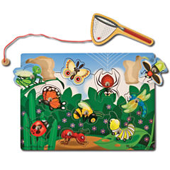 Melissa & Doug® Bug-Catching Magnetic Puzzle Game