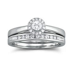 I Said Yes™ 1/3 CT. T.W. Certified Diamond Bridal Set