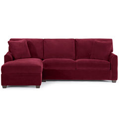 Fabric Possibilities 2-pc. Left-Arm Chaise/Loveseat Sectional
