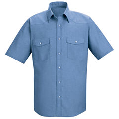 Red Kap Short-Sleeve Deluxe Western Style Shirt