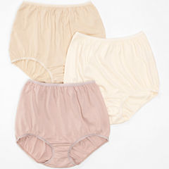 Underscore® Cotton Briefs, Tailored Panties 3 Pack