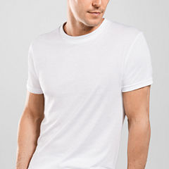Stafford® 4-pk. Blended Cotton Crewneck T-Shirts–Big & Tall