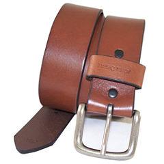 John Deere™ Oil Tan Strap Belt