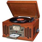 Record Player, Crosley 5-in-1 Entertainment Center