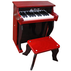 Schoenhut® Mahogany Elite 25-Key Spinet Kids Piano