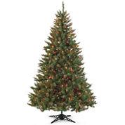 Pre-Lit Balsam Fir Christmas Tree Collection