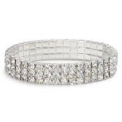 Vieste Crystal Rhinestone Stretch Bracelet