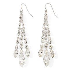 Vieste® Rhinestone Chandelier Earrings