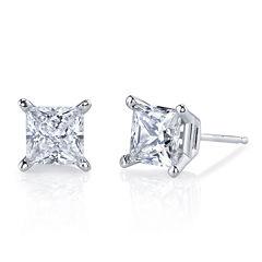 Simulated Diamond, Diamonore™ Studs 1 CTW 14K