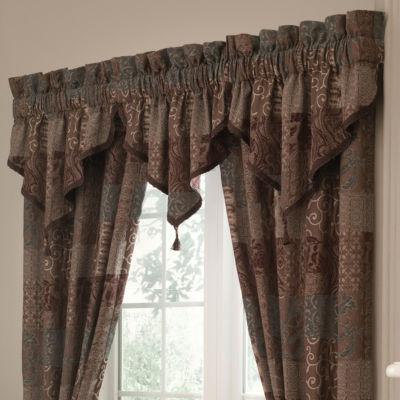 Superior Croscill Classics® Catalina Brown 2 Pack Curtain Panels