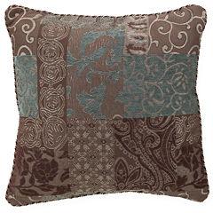 Croscill Classics® Catalina Brown Square Decorative Pillow