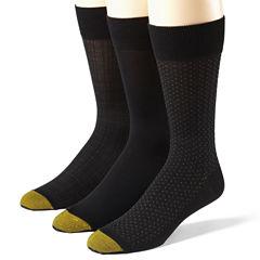 Gold Toe® 3-Pk. Microfiber Socks