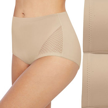 Bali Passion For Comfort Firm Control 2 pack Control Briefs Dfx008