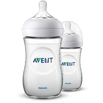 Philips Avent Natural 9 Oz Baby Bottle 2pk