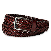 IZOD® Brown Braided Belt - Boys 8-20