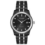 Citizen Mens Black Bracelet Watch-Bm7348-53e
